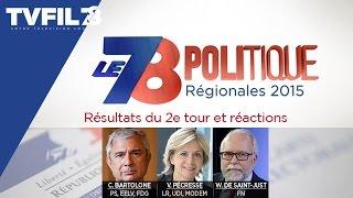 """Le 7/8 Politique – Emission spéciale """"2d tour des régionales en Île-de-France"""""""