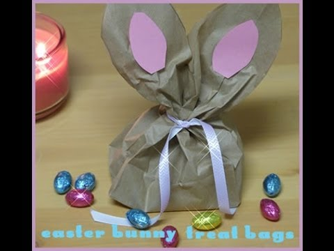 Paper bag easter bunny craft diy paper gift bag idea easter paper bag easter bunny craft diy paper gift bag idea easter craft for kids negle Image collections