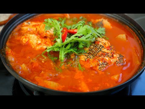 Spicy Korean Fish Stew (Maeuntang : 매운탕)