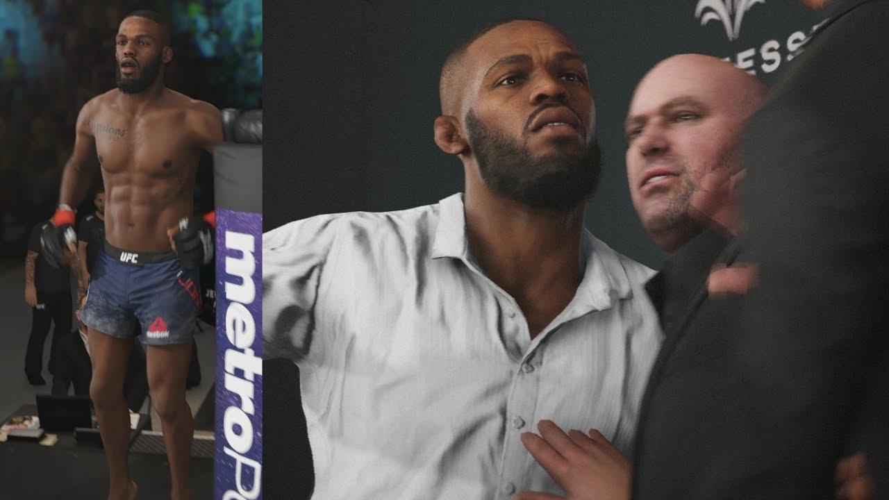 UFC 3 GOAT Career Mode - Jon Jones Showdown! EA Sports UFC ...