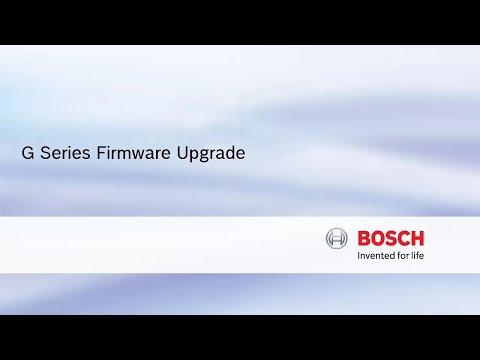 Bosch Security - Series Firmware Upgrade