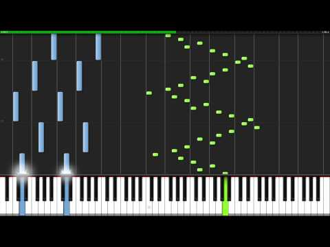 Etude Opus 10 No. 1 - Frederic Chopin [Piano Tutorial] (Synthesia)