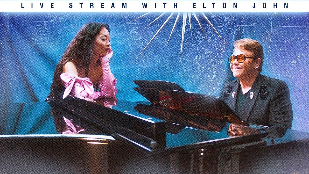 RINA SAWAYAMA & ELTON JOHN talk live: Chosen Family (FULL INTERVIEW)