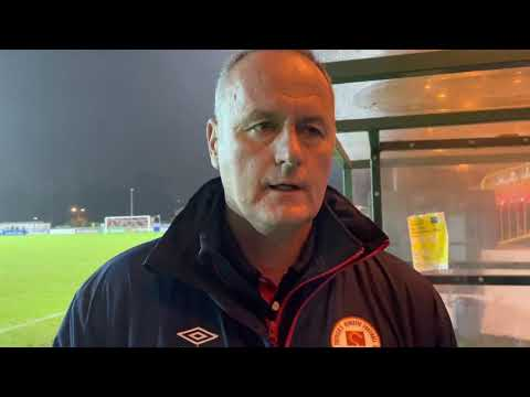 Mathews On Defeat In Sligo