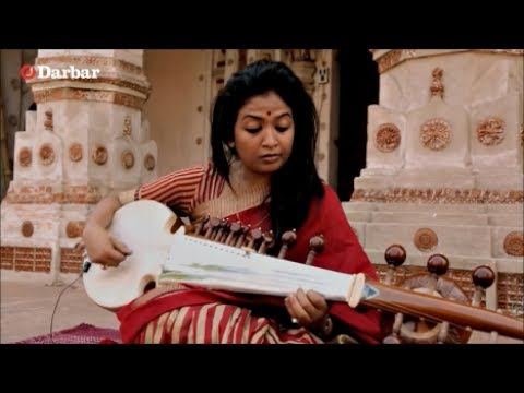 Indian Musician Debasmita bhattacharya playing Irish Banjo song The Beast - parody