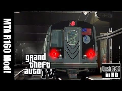 MTA R-160 Subway