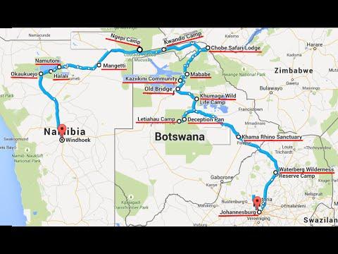 Botswana   Namibia Julio 2015