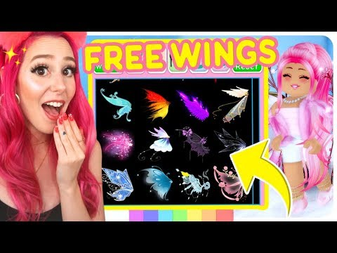 How To Get The New Royale High Wings For FREE! Roblox Roylae High New Wing Update!