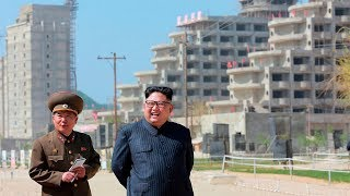 Construction is underway in North Korea to build a sprawling resort...