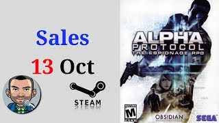 Steam Sales 13th Oct | Low Budget Gaming