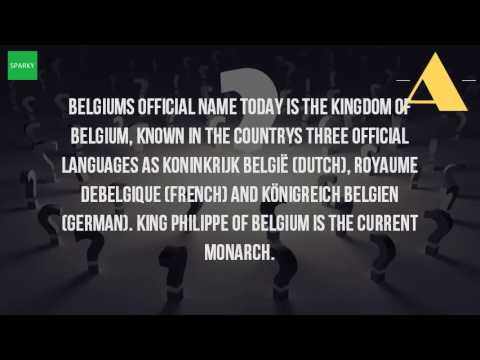 What Is The Official Name Of Belgium?