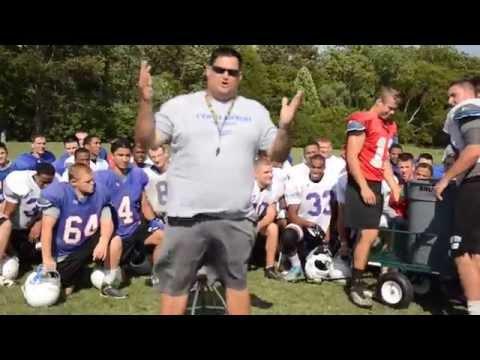 Coach Hurlocker accepts #IceBucketChallenge at Fork Union Military Academy