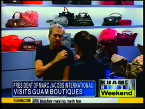 Marc Jacobs fashion exec pays Guam a visit