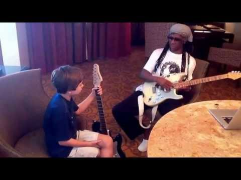 Andy Cottingham interview with Nile Rodgers