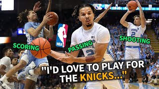 """""""I Was The Man After That."""" Cole Anthony Gets REAL On His Time At UNC & Where He'll Get DRAFTED!"""