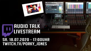 Twitch-Talk | Audioqualität verbessern | Sa. 18.07.2020 Livestream | Tutorial thumbnail