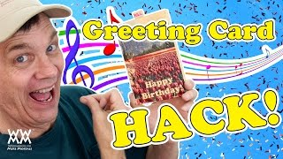 Surprise Someone With A Diy Musical Greeting Card. Unique Gift Idea!