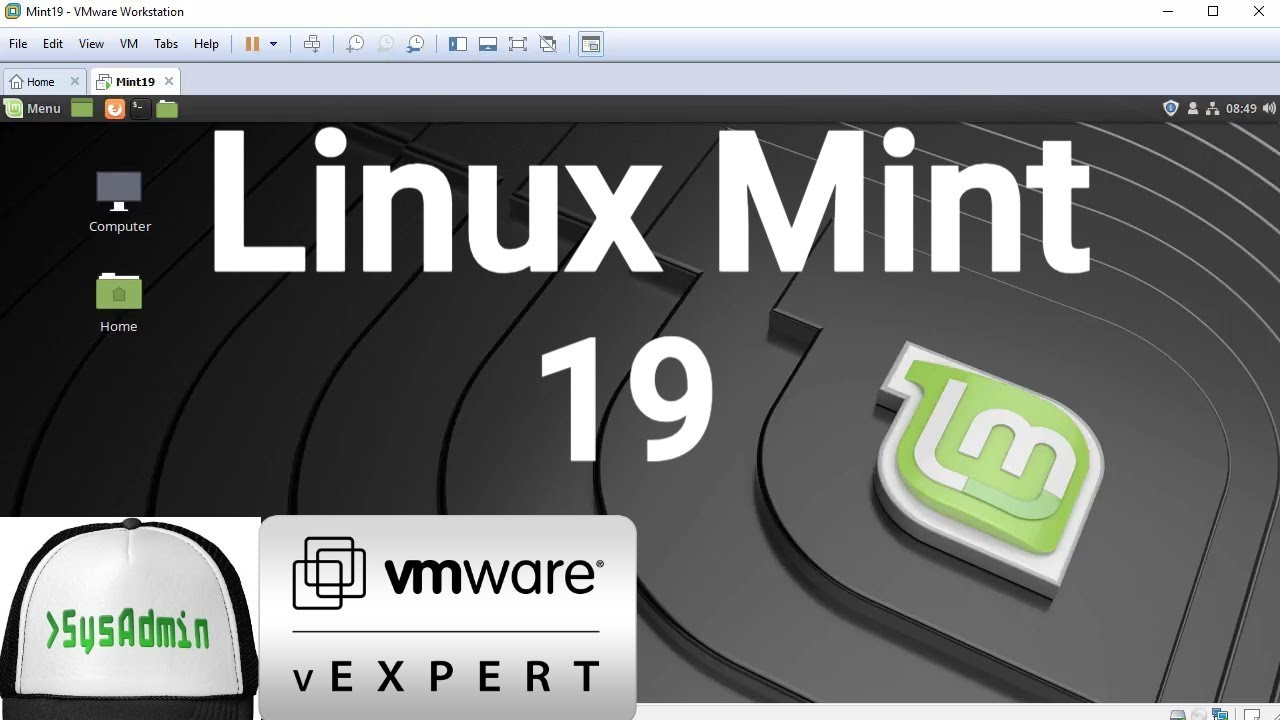 How to Install Linux Mint 19 + VMware Tools + Review on VMware Workstation  [2018]