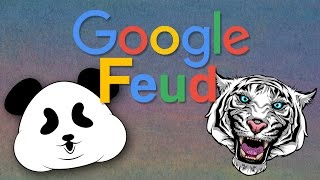 One of BigJigglyPanda's most viewed videos: Dear Google, I Think My Dad is Gay - GOOGLE FEUD FUNNY MOMENTS with Wildcat