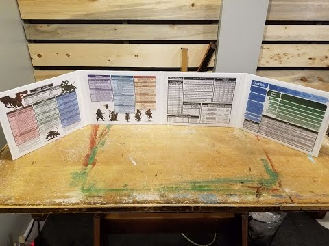 DIY: Make your own DM screen - YouTube