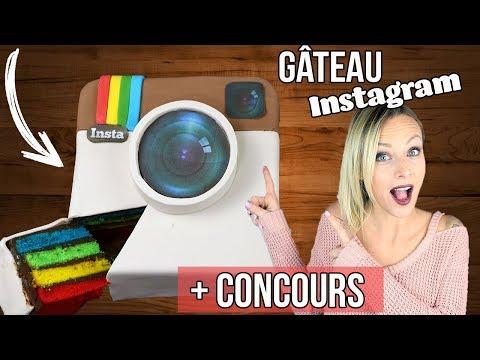 ♡• RECETTE GATEAU INSTAGRAM ARC EN CIEL | + CONCOURS •♡