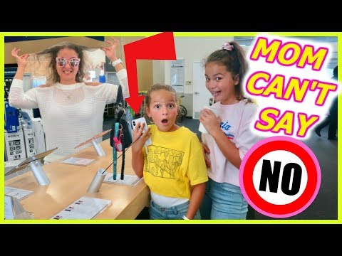 MOM CAN'T SAY NO !!    KIDS IN CONTROL FOR 24 HOURS | SISTER FOREVER