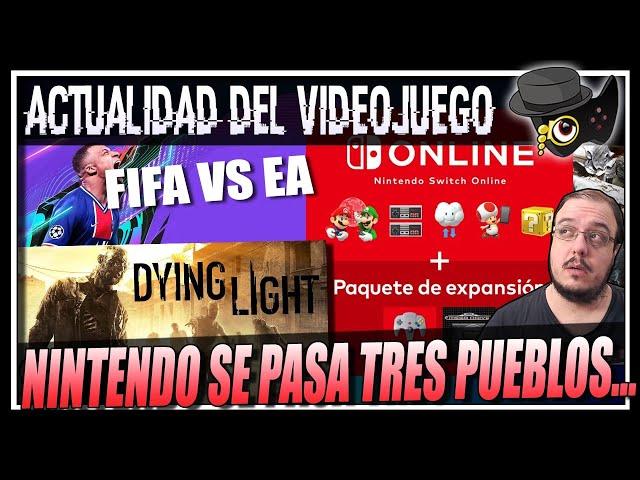 NINTENDO SE PASA CON EL PRECIO DE SWITCHONLINE+, DYING LIGHT parche en XBOX SERIES Y PS5, FIFA VS EA