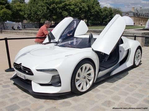 Citroen GT cruising in Paris !!