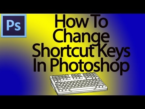 Photoshop Tip: Custom Shortcut Keys (Photoshop CS6)