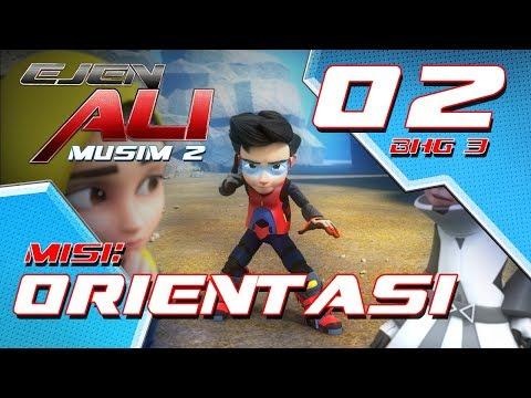 Ejen Ali - Musim 2 (EP02) - Misi : Orientasi [Bahagian 3]