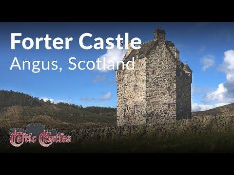 Forter Castle - Angus, Scotland