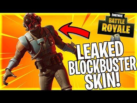 13 New Fortnite Skins Leaked Including New Blockbuster Skin!!