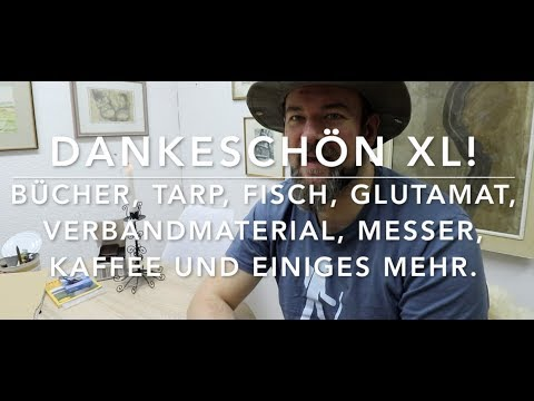 Langes Dankeschön-Video. :-) (Nur für Interssierte)