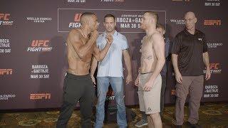 UFC Philadelphia: Weigh-in Faceoffs