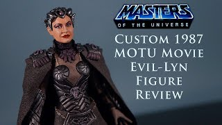 Gambar cover Masters Of The Universe Movie Custom Evil-Lyn Figure Toy Review MOTU Classics MOTUC Evillyn Lynn