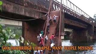 Two dead, over 10 feared missing after Sanvordem bridge collapses in Goa NewsPointTV