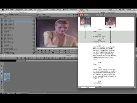 Avid Tutorial - 57 -  ScriptSync