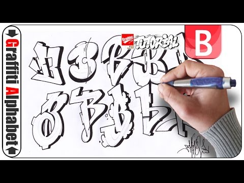 Graffiti Alphabet - Letter B - Buchstabe B - Letra B