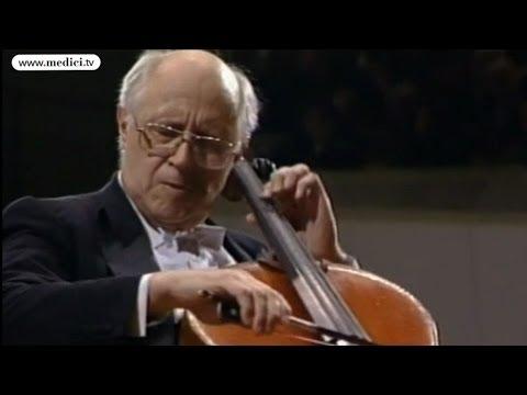 Mstislav Rostropovich - Tchaikovsky's Andante Cantabile