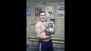 Обзор гордеевской гири 50 кг.