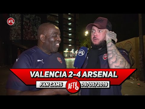 valencia-2-4-arsenal-|-bring-them-on,-we-don't-fear-chelsea-in-the-final!-(dt)