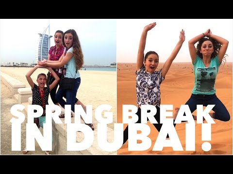 Spring Break 2015 in Dubai | Brooklyn and Bailey