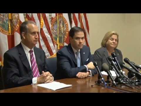 Presidente de la AN con los Congresistas Marcos Rubio, Mario Diaz-Balart e Ileana Ros-Lehtinen