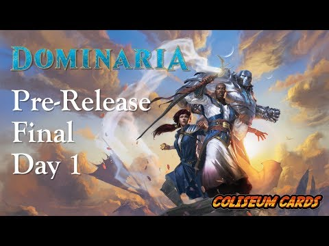 PreRelease Dominaria Final - Day 1