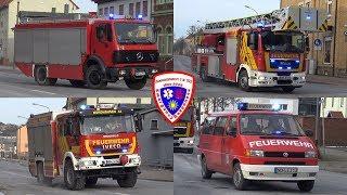 🚒 RW + HLF 20/16 + ELW + DLA(K) 23/12 Berufsfeuerwehr Nordhausen