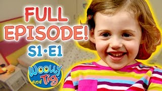 Woolly and Tig - First Ever Episode! | Changing my Room | Kids TV Show | Full Episode | Toy Spider
