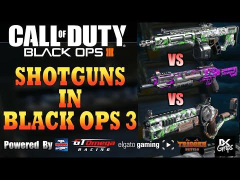 SHOTGUNS IN BLACK OPS 3 (Haymaker 12 Vs KRM-262 Vs Argus)