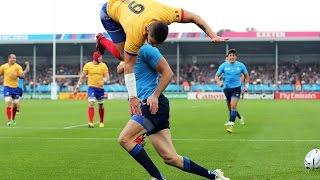 Les plus gros tampons et plaquages du rugby à XIII !