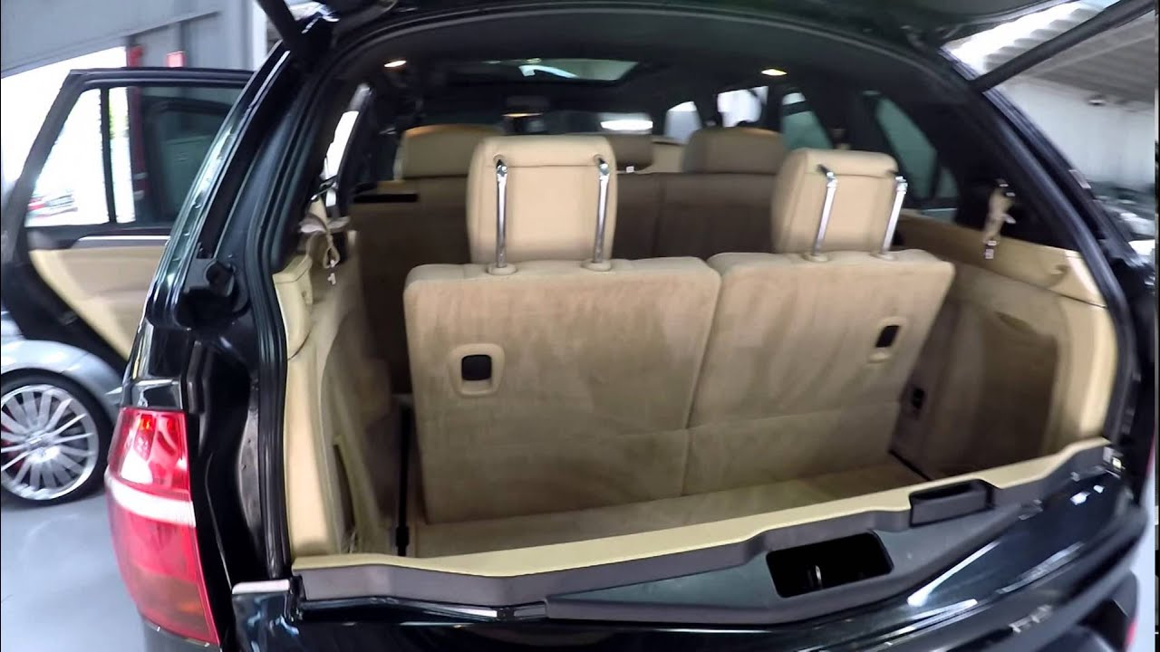 bmw x5 3 0d sport 2008 7 seater black youtube. Black Bedroom Furniture Sets. Home Design Ideas