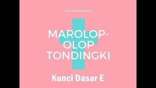 Karaoke Rohani - Marolop-olop Tondingki